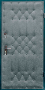 Входная дверь КВ123 вид снаружи
