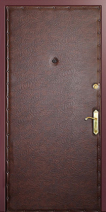 Тамбурная дверь Т17 вид внутри
