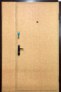 Тамбурная дверь Т76 вид снаружи
