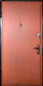 Входная дверь КВ107 вид внутри