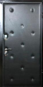 Входная дверь КВ124 вид снаружи
