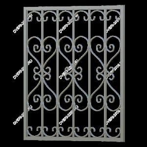 Кованая решетка №2