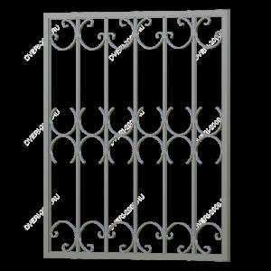 Кованая решетка №6