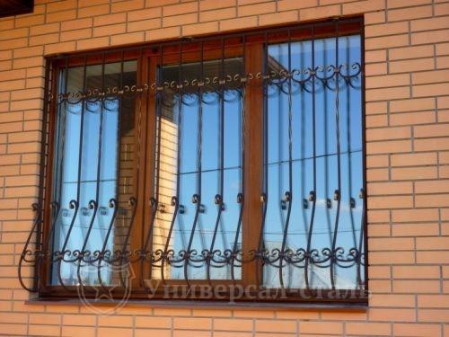 Кованая решетка №12 — фото