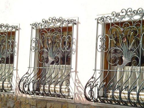 Кованая решетка №51 — фото