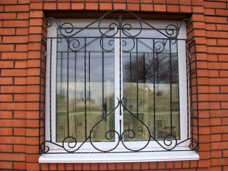 фото решеток на окна сварные предварительно