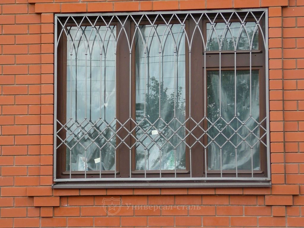 фото решеток на окна сварные эта рыжая милаха