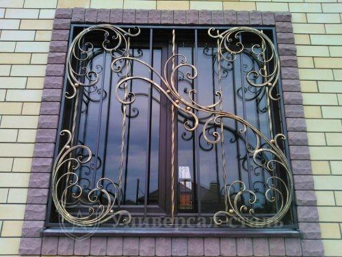 Кованая решетка №83 — фото