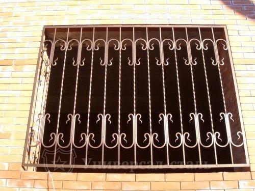 Кованая решетка №89 — фото