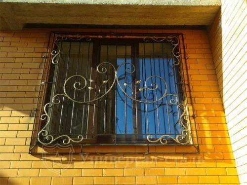 Кованая решетка №93 — фото