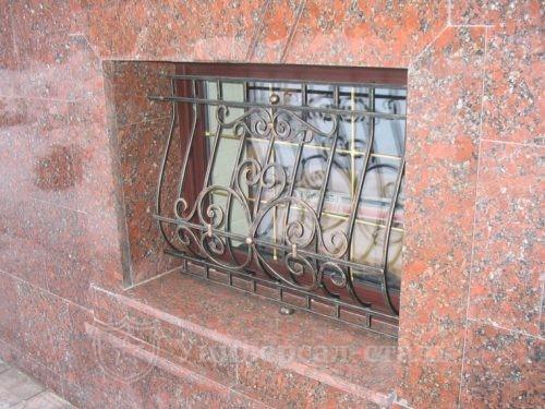 Кованая решетка №108 — фото