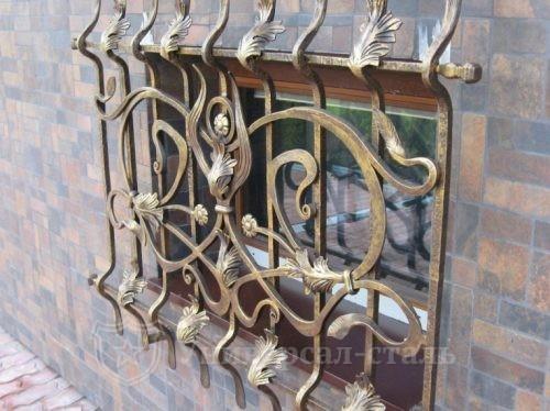 Кованая решетка №112 — фото