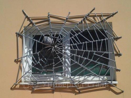 Кованая решетка №119 — фото