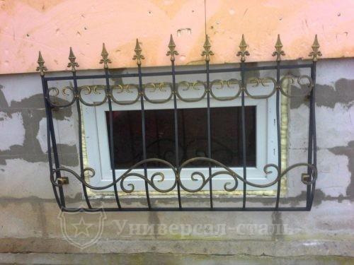 Кованая решетка №120 — фото
