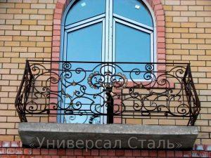 Кованый балкон №10