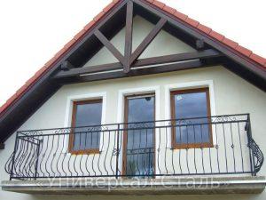 Кованый балкон №100