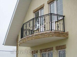 Кованый балкон №102