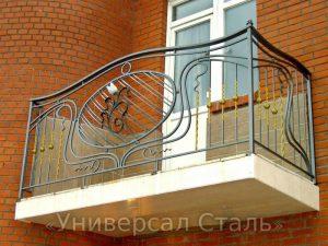Кованый балкон №103