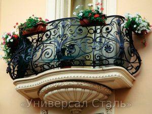 Кованый балкон №106