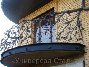 Кованый балкон №107