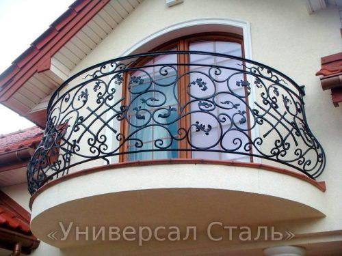 Кованый балкон №108 — фото