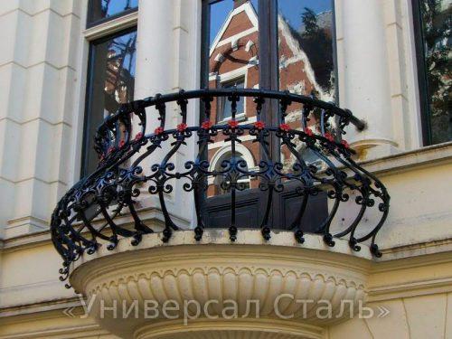 Кованый балкон №109 — фото