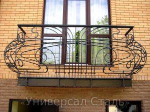 Кованый балкон №11