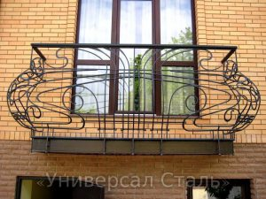 Кованый балкон №11 - фото 1