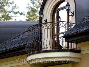 Кованый балкон №110