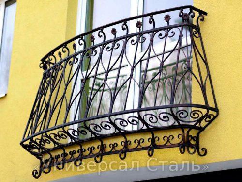 Кованый балкон №112 — фото