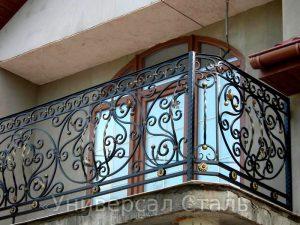 Кованый балкон №114