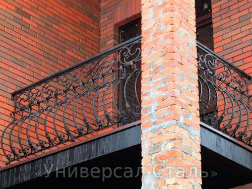 Кованый балкон №115 — фото
