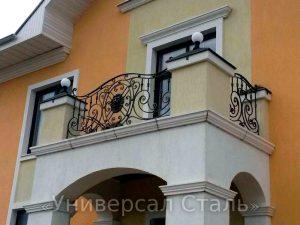 Кованый балкон №117