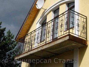 Кованый балкон №118