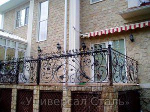 Кованый балкон №119