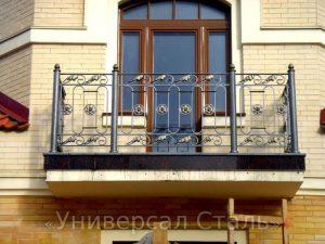 Кованый балкон №12 - фото 1