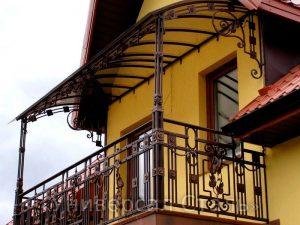 Кованый балкон №121