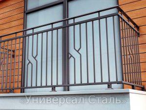 Кованый балкон №122