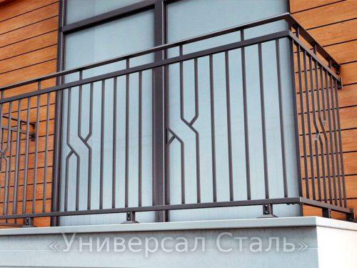 Кованый балкон №122 — фото