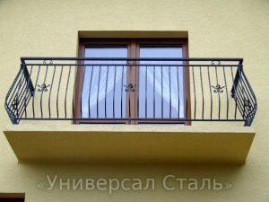 Кованый балкон №13 - фото 1