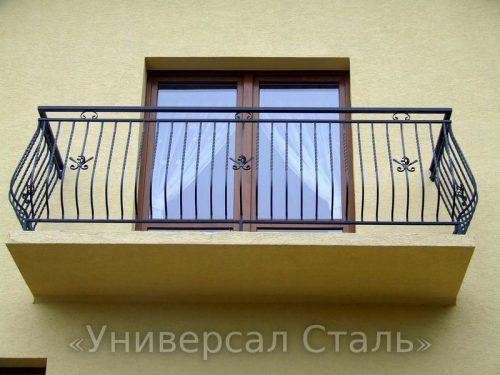 Кованый балкон №13 — фото
