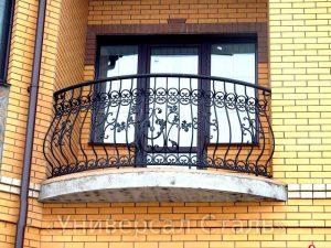 Кованый балкон №14