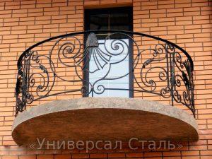 Кованый балкон №15 - фото 1