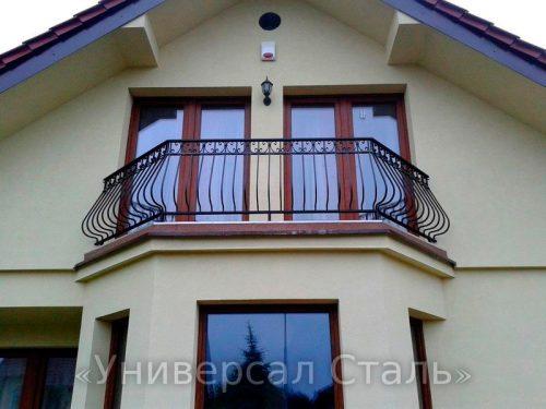 Кованый балкон №20 — фото