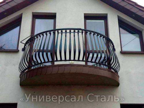 Кованый балкон №21 — фото