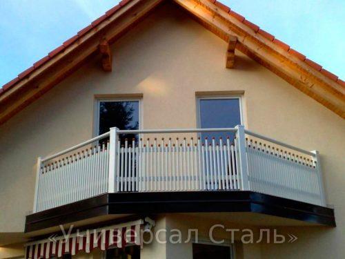 Кованый балкон №24 — фото