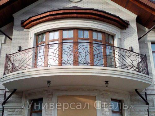 Кованый балкон №25 — фото