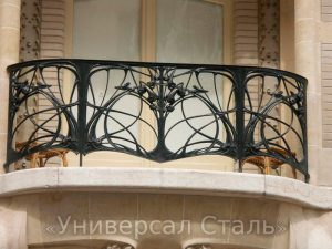 Кованый балкон №28 - фото 1