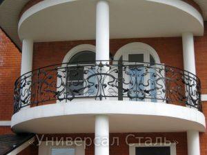 Кованый балкон №3 - фото 1