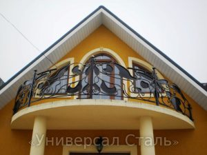 Кованый балкон №30 - фото 1